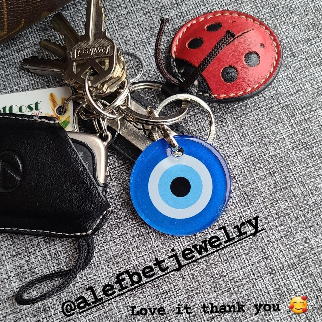 keyring for the graduate to watch over and protect them