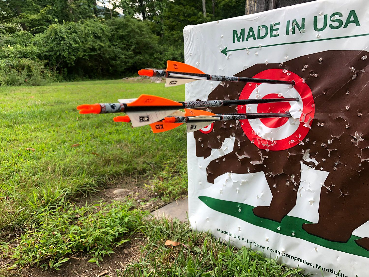 Bow accuracy is different than rifle accuracy.