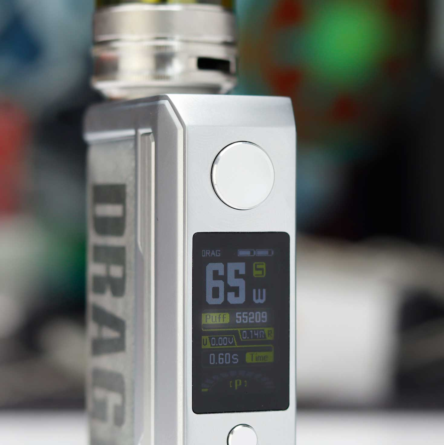 Voopoo Drag 3 puff counter