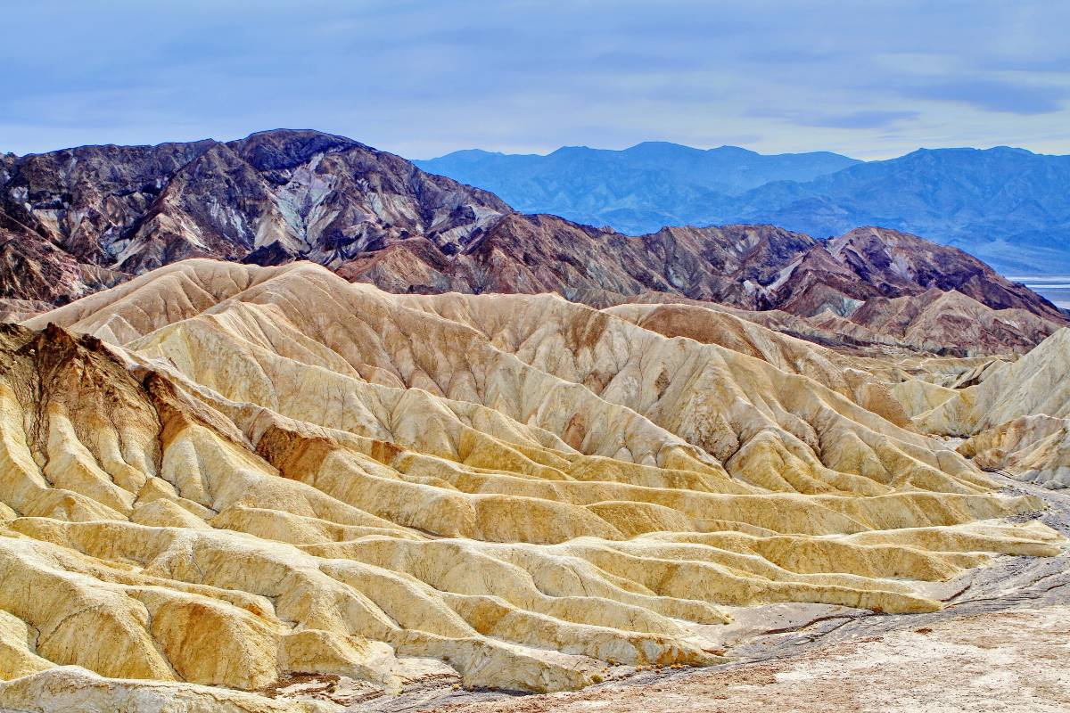 Artists' Palette in Death Valley, the subject of many fun facts about national parks