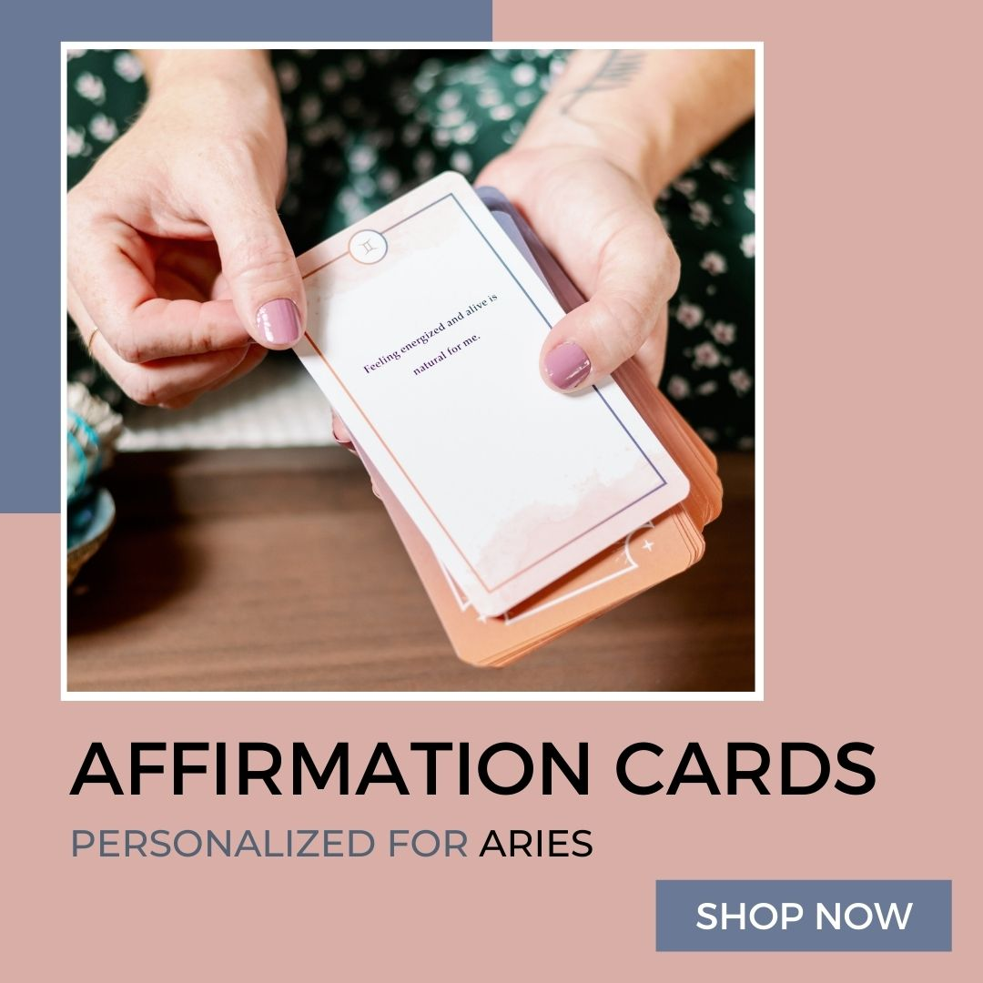 Affirmation Cards for Aries