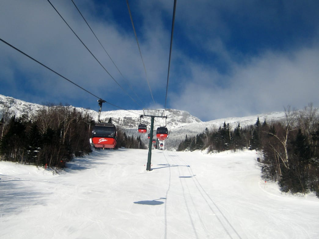 Photo of chairlift at Stowe Mountain Resort