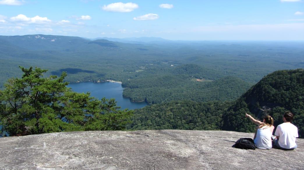 The view at Table Rock State Park.