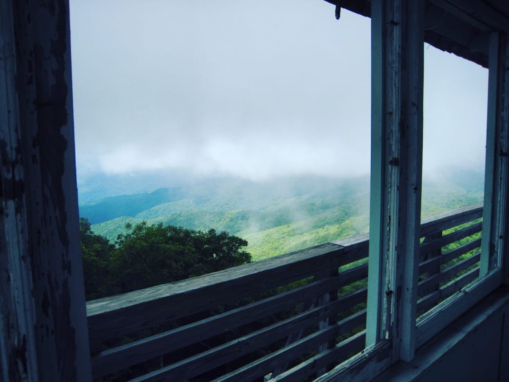 View from the Green Knob Fire Tower.