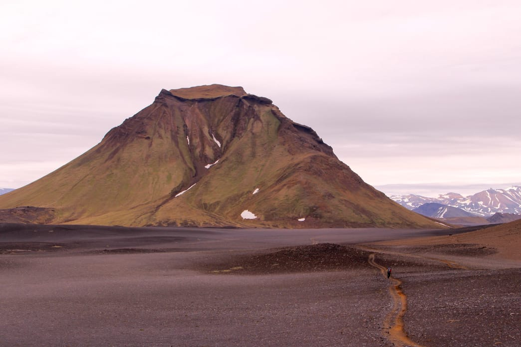 Surreal landscapes are the norm in Iceland. Matt Guenther