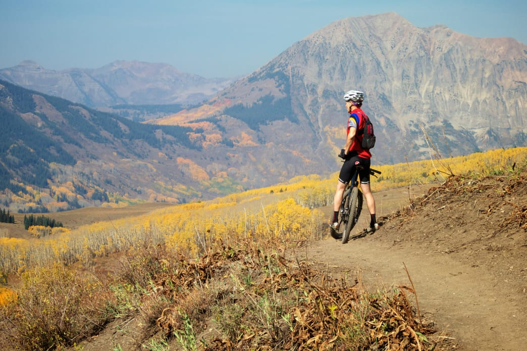Spend a long day enjoying the views and biking Deer Creek Loop.