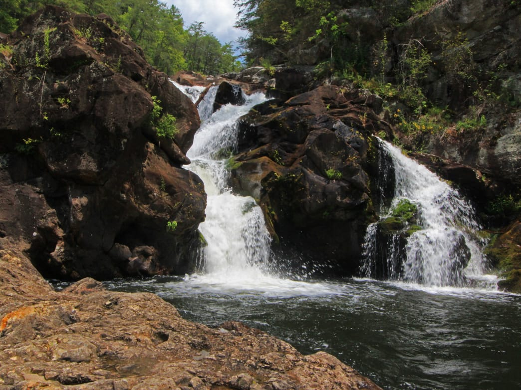 Georgia's Cohutta Wilderness is home to the popular Jacks River Falls.
