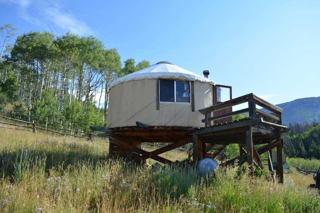 North Fork Canadian Yurt