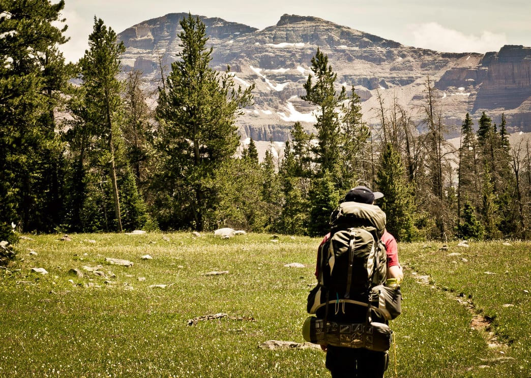 Backpacking to Allsop Lake in the Uinta Wilderness