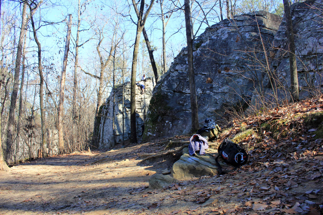 Moss Rock Park is an excellent add-on to any game day weekend.