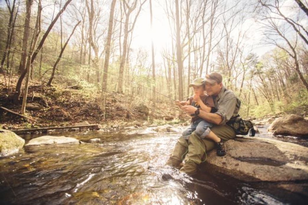 Creek Fishing in the George Washington & Jefferson National Forest