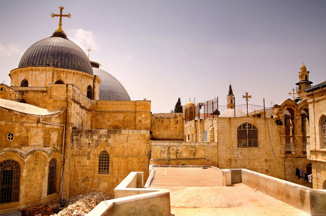 The Church of the Holy Sepulchre in Jerusalem is the most sacred Christian place on Earth.