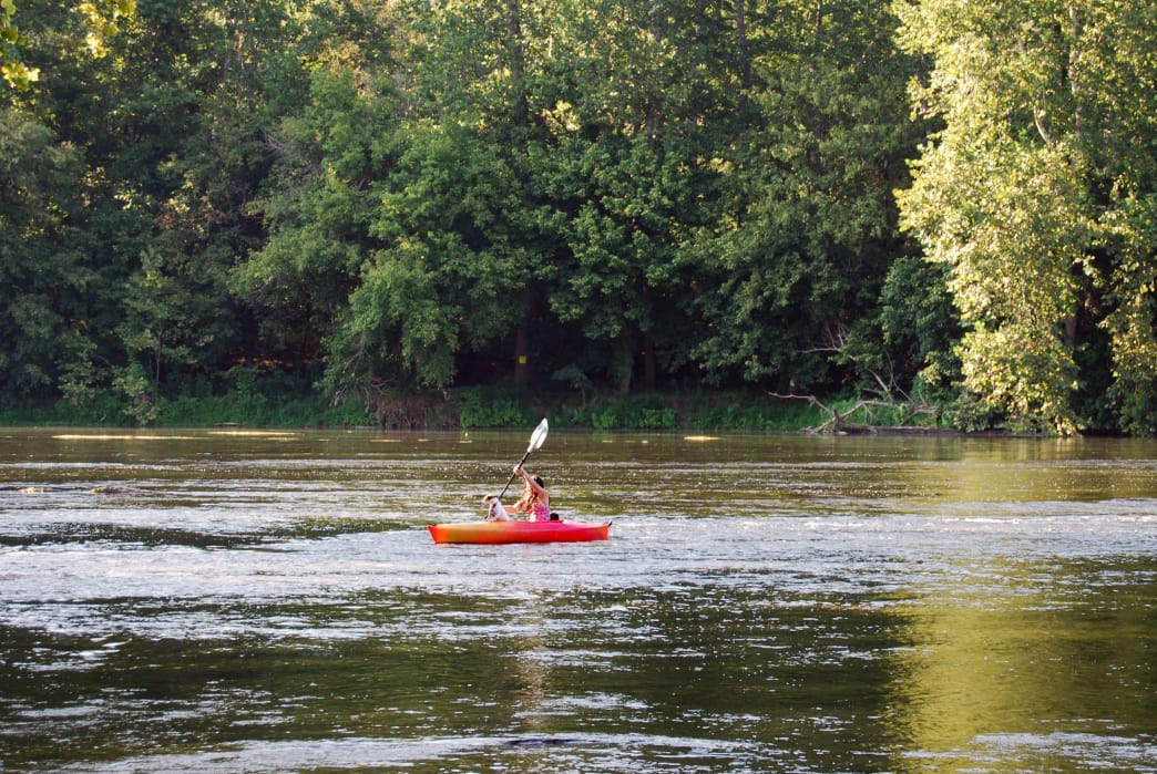 The Shenandoah River is one of the top paddling destinations in the eastern United States.