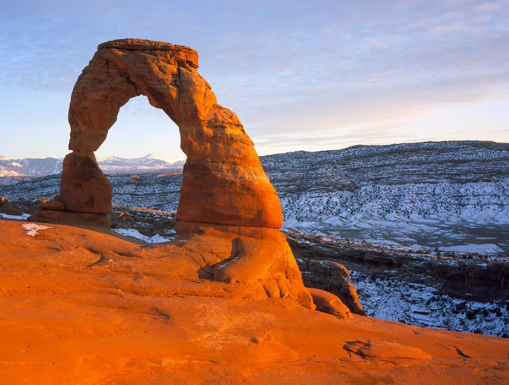 Possibly the world's most famous arch?
