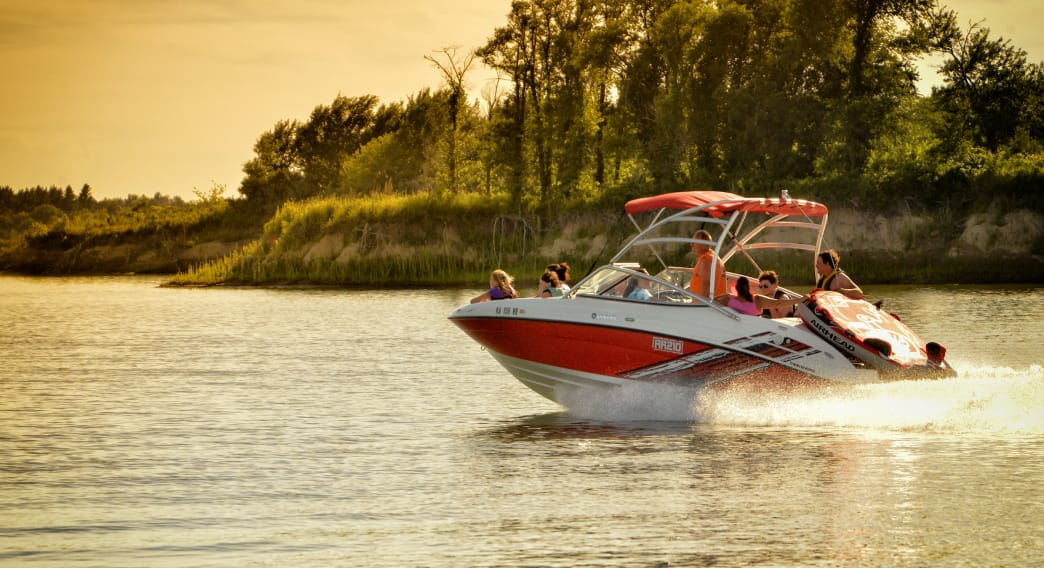 Spend some time boating on the Kansas's largest lake at Milford State Park.