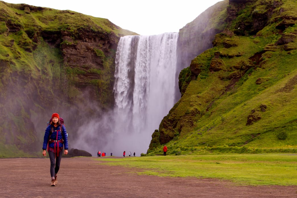 There's a reason Skogafoss is one of the most photographed locations in Iceland. Matt Guenther