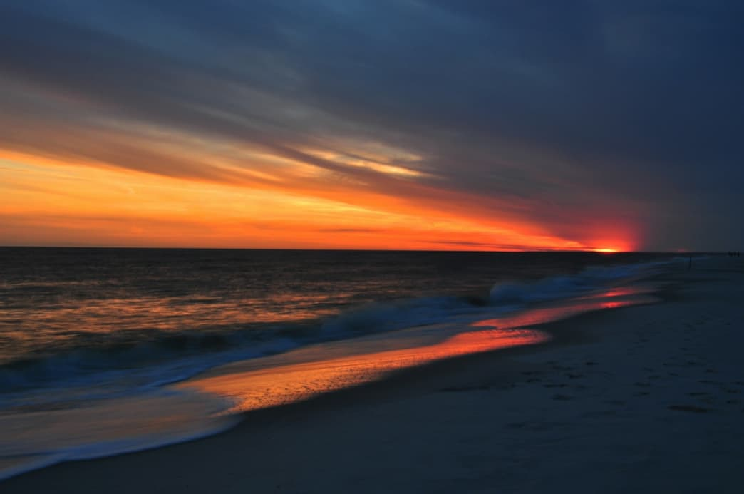 Dauphin Island offers several beaches and viewpoints for watching the sunset.
