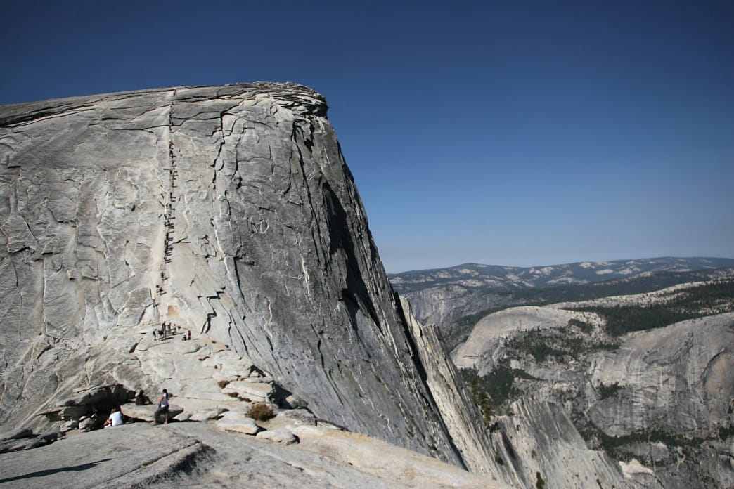 Yosemite's Half Dome is perhaps its most iconic landmark, and a must-do hike.
