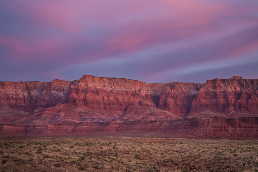 Slow down to find hidden wonders such as the striking Vermilion Cliffs on your trip along US Highway 89.