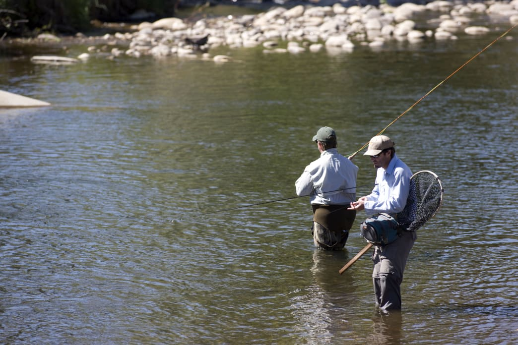The Provo River runs through the heart of Heber Valley, and it offers some of the best fishing in the state.