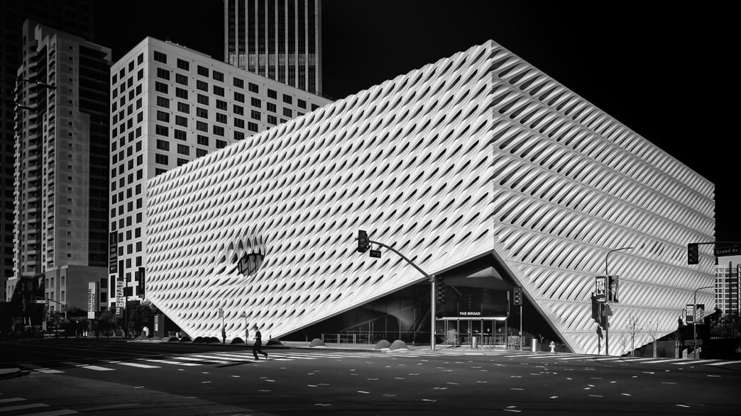 The Broad Museum, Los Angeles.