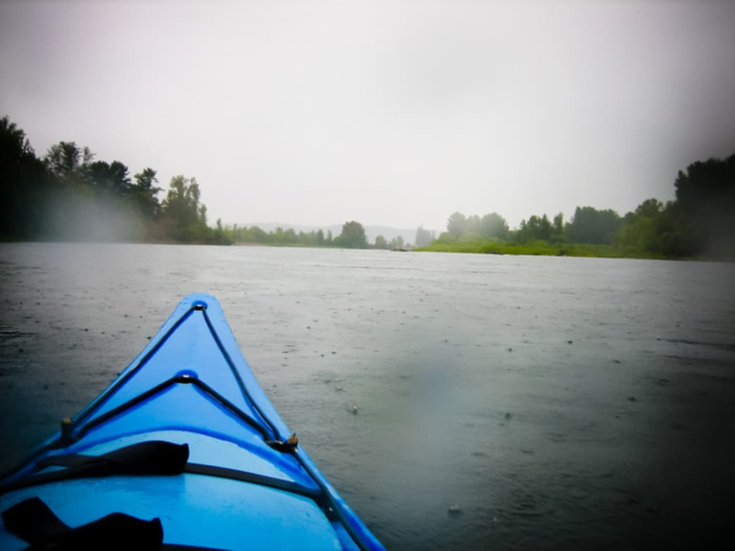 The Willamette River offers numerous paddling opportunities throughout Portland.
