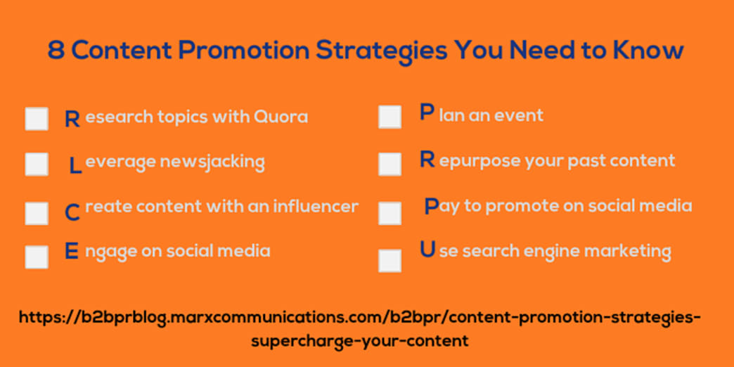 8 Content Promotion Strategies You Need to Know