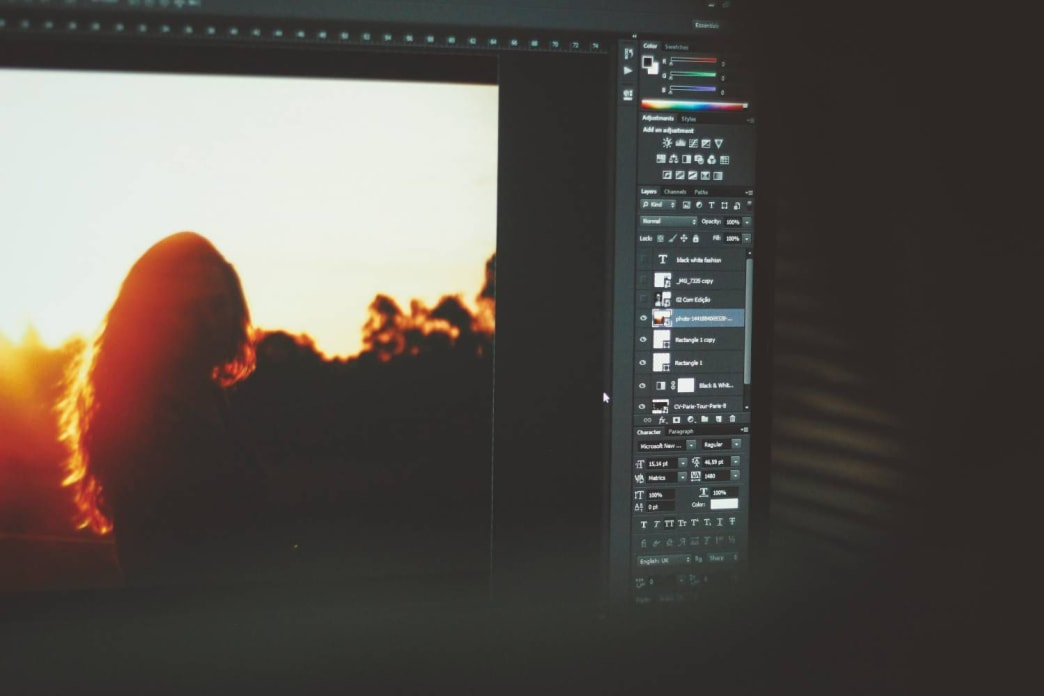 Yes, Photoshop can be intimidating if you're a newbie, but basic tweaking is easy and goes a long way.