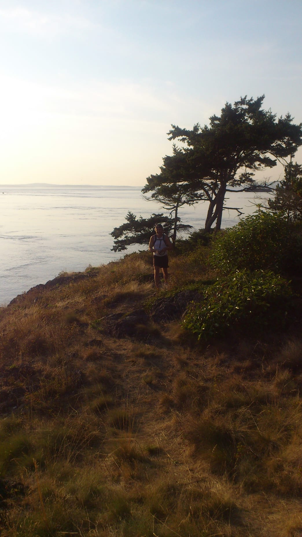 Jay Kuehner takes to the trails in Seattle.