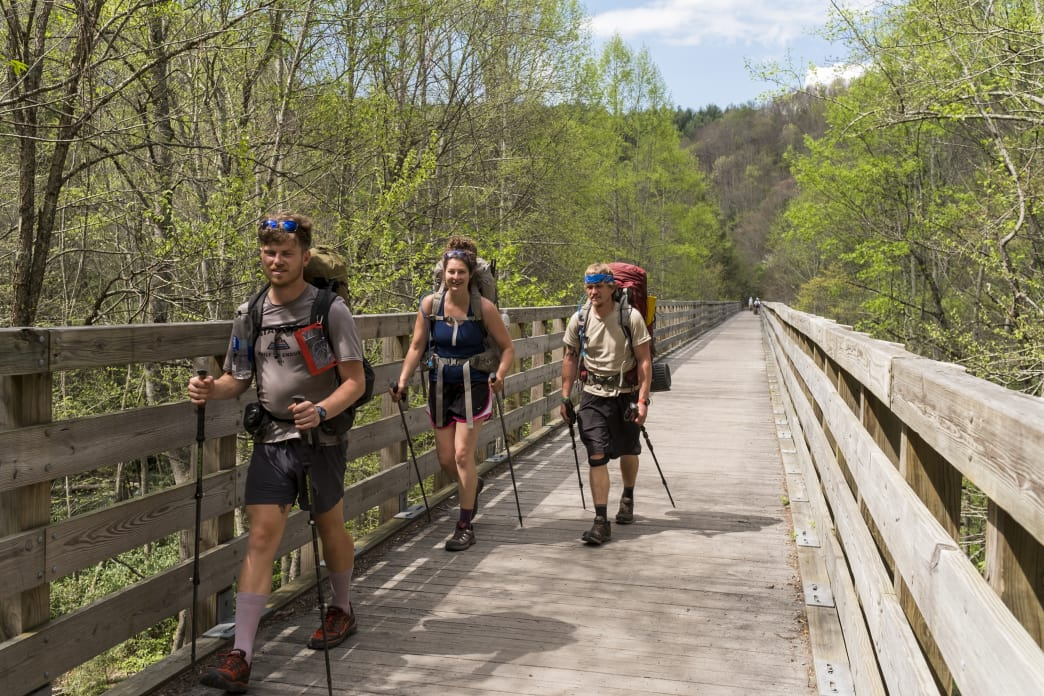 Damascus is one of the most popular trail towns on the AT. It also features several other regional trails that are good for day hiking, including the Virginia Creeper Trail.