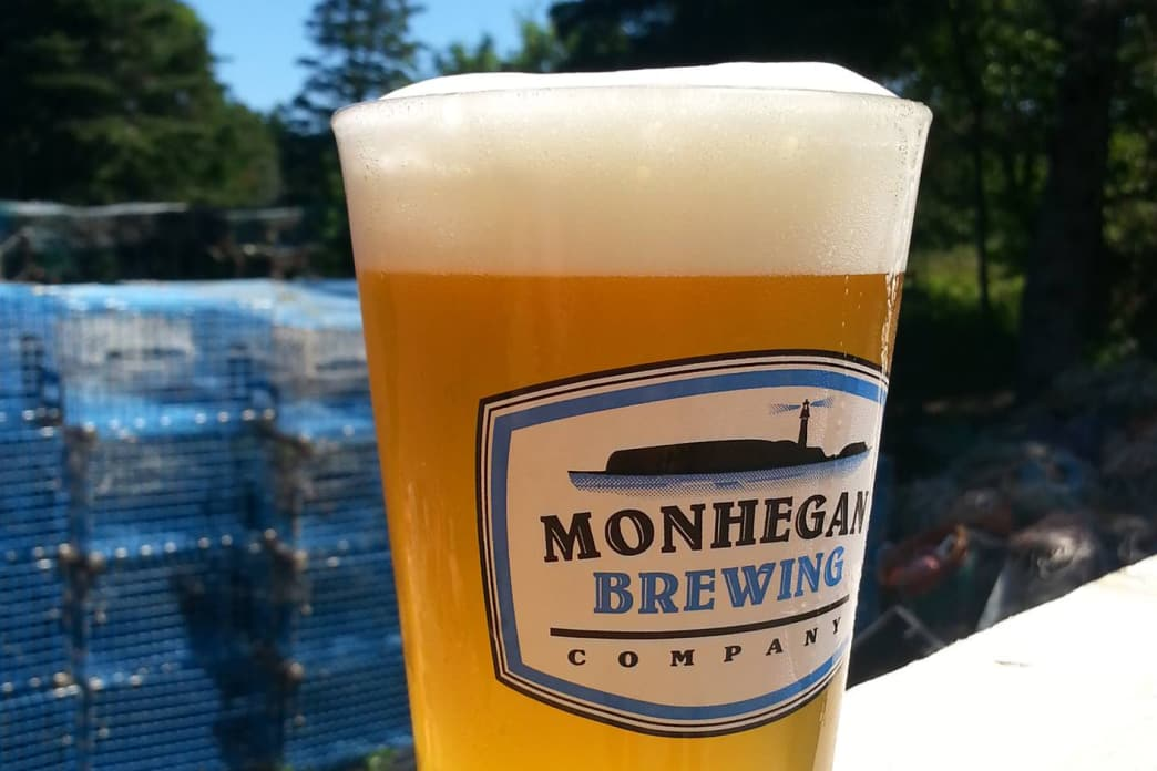 Monhegan Brewing Company is a great place to relax after a hike at Lobster Cove.