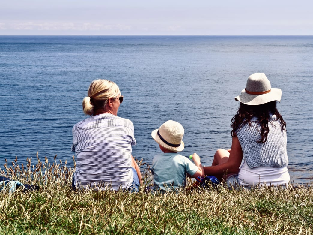 Hanging out with your grandchildren can keep you feeling younger and more vibrant.