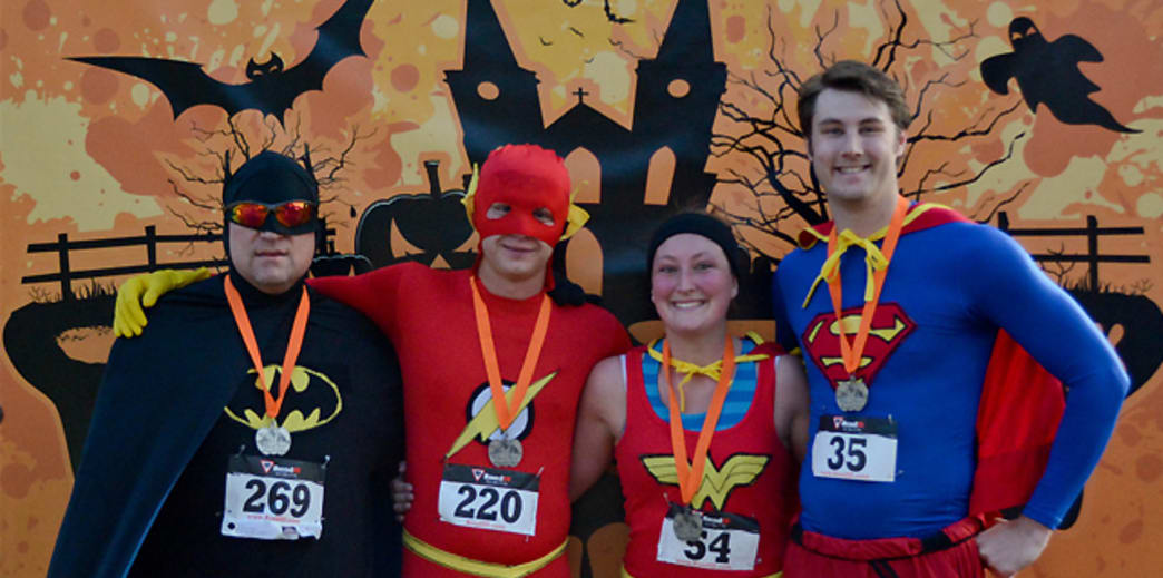 The Terror Trot benefits the  Children's Hospitals and Clinics of Minnesota.
