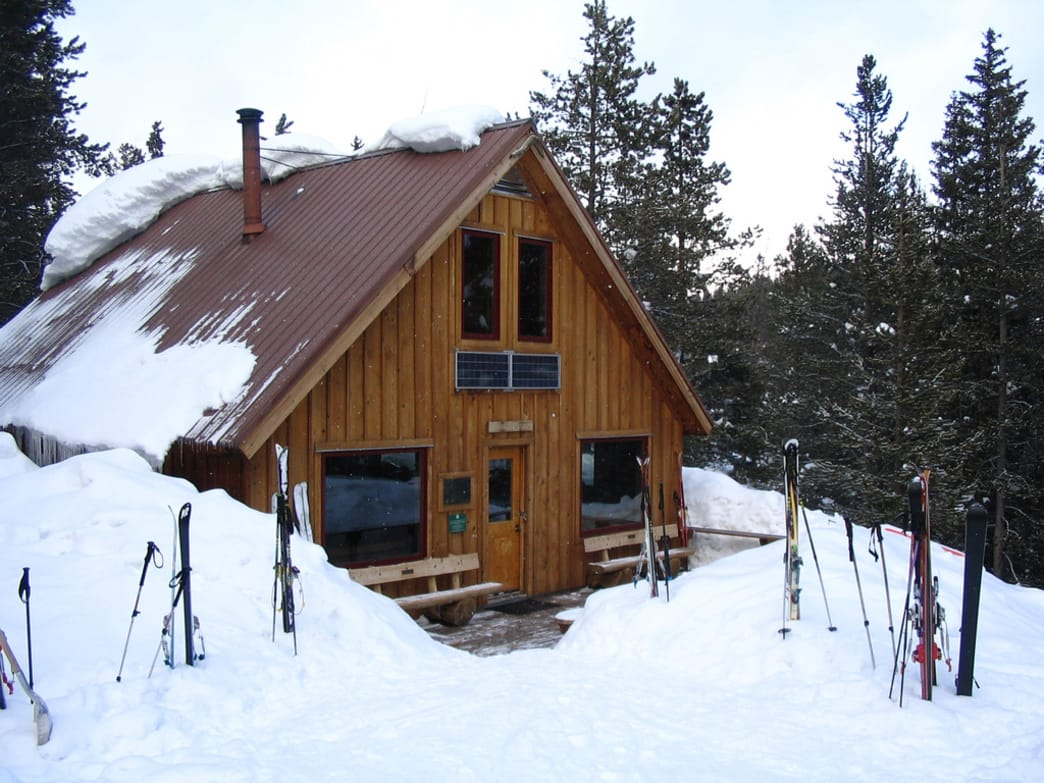 Early spring is an ideal time for a hut trip in Aspen.