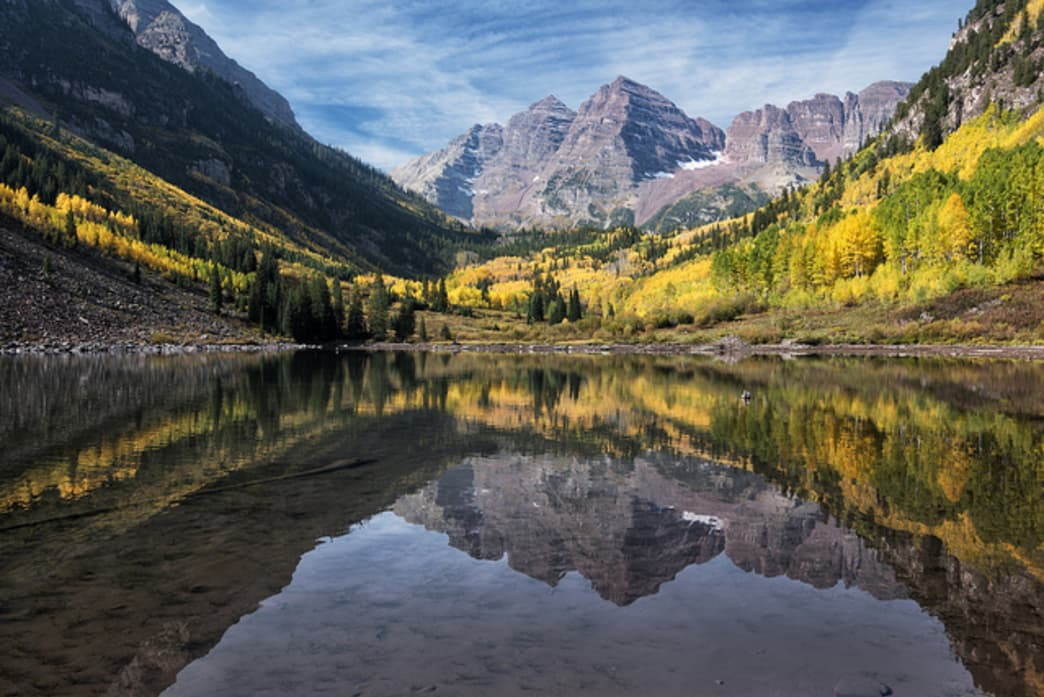 The Maroon Bells features three different grounds - Car Camping Around Aspen