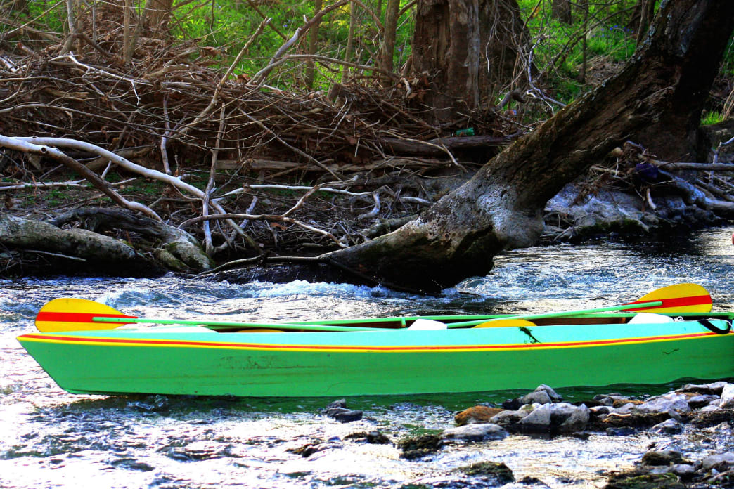 The Elkhorn is a whitewater classroom for many paddlers from bordering states.