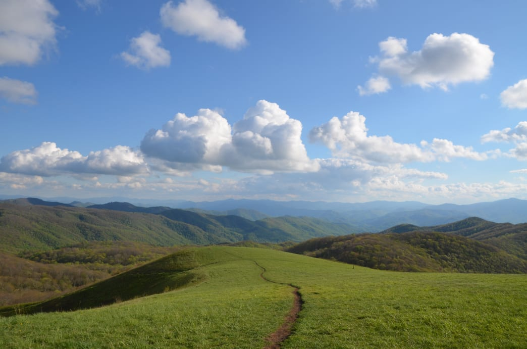 Max Patch is one of the most popular spots along the entire trail.