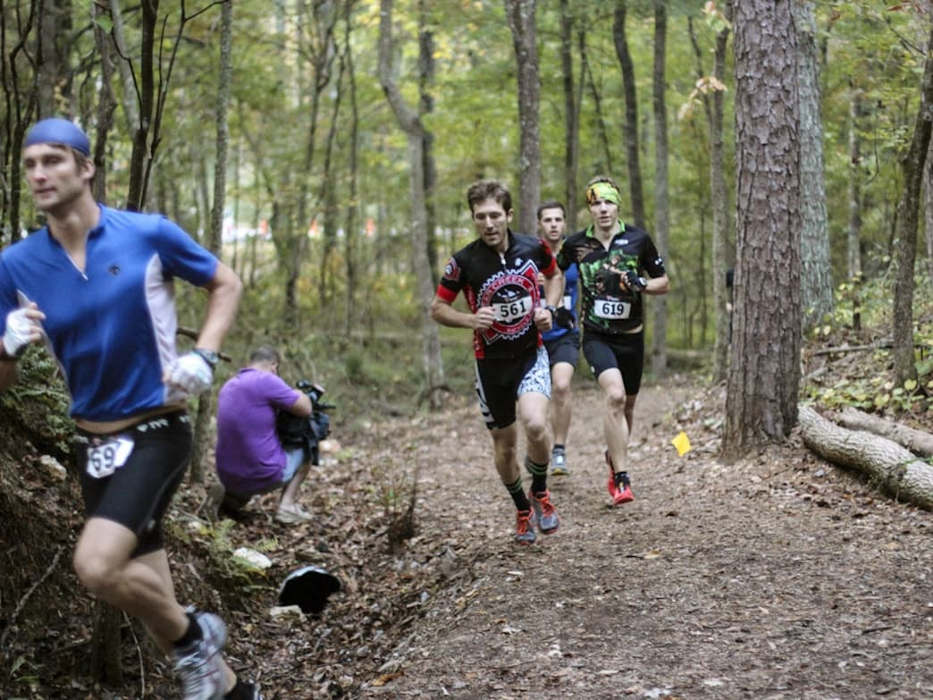 Chattanooga offers some of the best trail running in the southeast.     Roger Ling