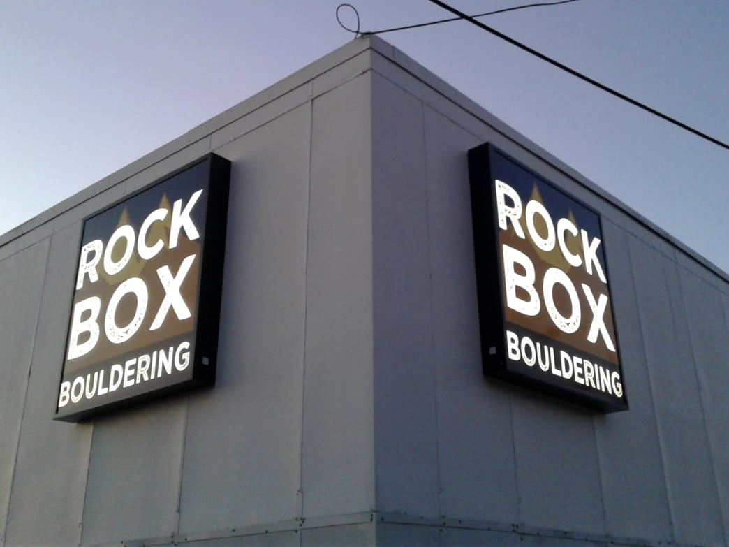 Burgess hopes Rock Box becomes not only a hub for seasoned climbers but also a unique place to socialize.