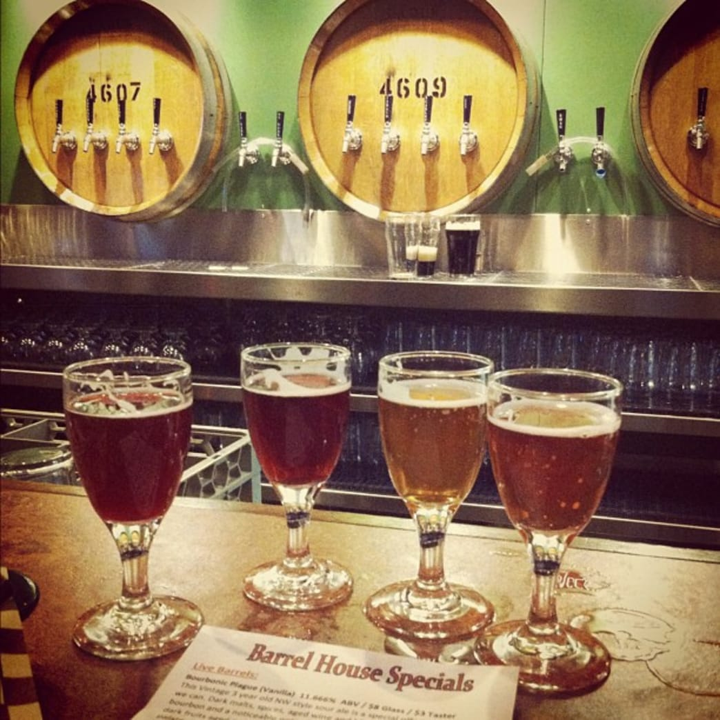 Cascade Brewing Barrel House serves an enticing selection of sours.