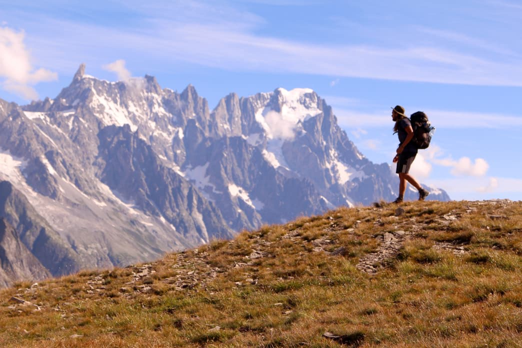 The Tour du Mont Blanc features 105 of the most breathtaking backcountry miles in the world.     Matt Guenther