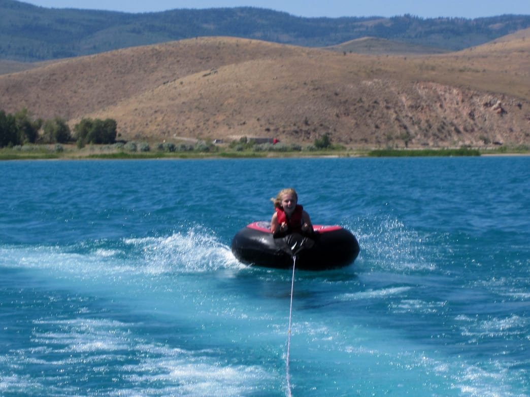 Bear Lake's dazzling, deep blue waters are always buzzing with activity.