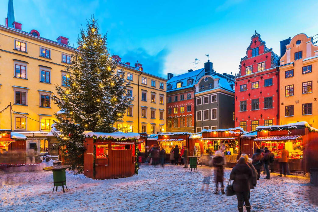 Not everything in winter is bleak and grey. Try visiting an outdoor market and enjoy the seasonal pleasures the cold brings with it.