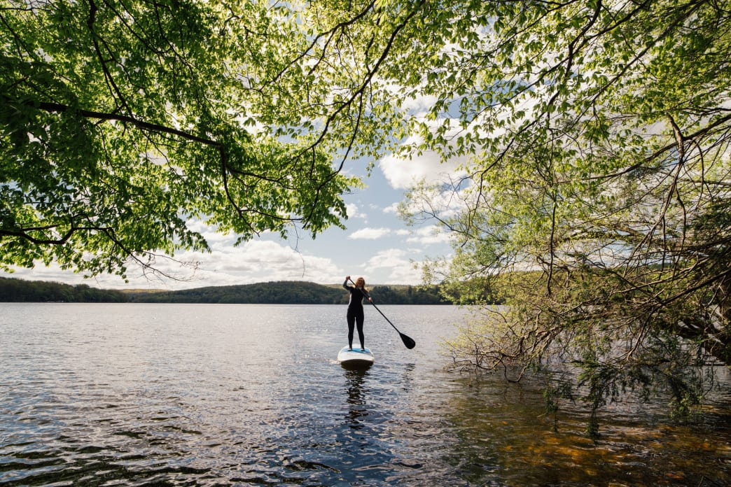 Try SUP on Lake Wallenpaupack