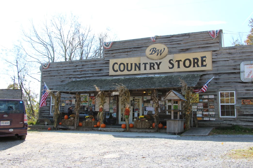The BW Country Store is located at the Big Walker Lookout.