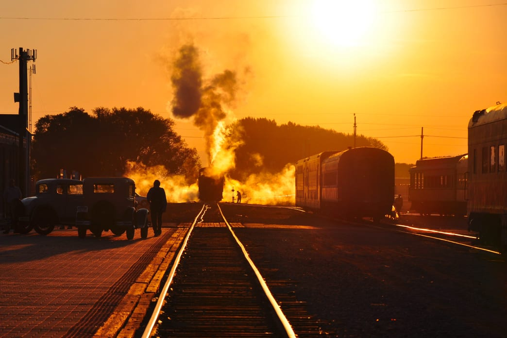 You can hop aboard the Rio Grande Scenic Railroad from its historic depot in downtown Alamosa.