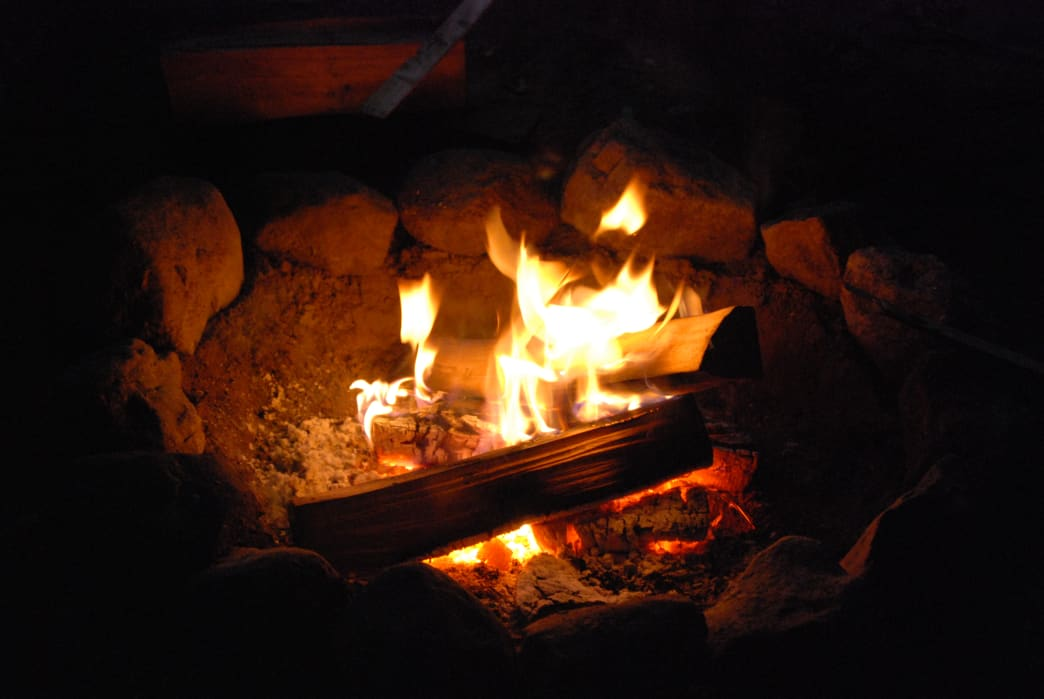 safety tips for open fires