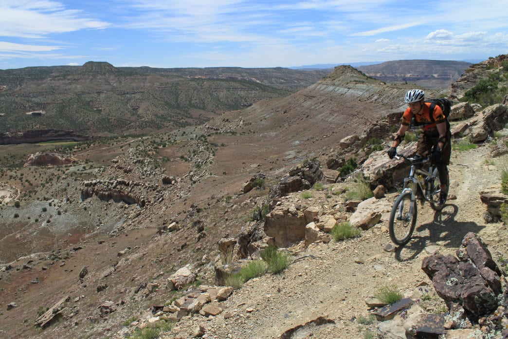 Enjoy miles and miles of singletrack in Grand Junction.<br />