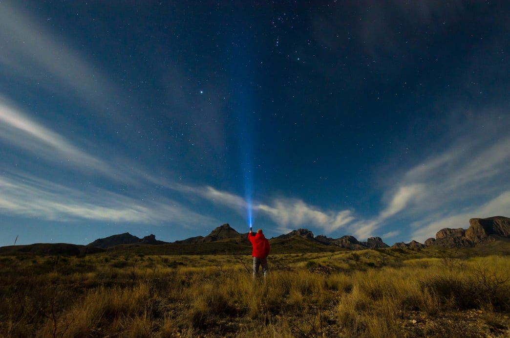 Big Bend has exceptionally good star gazing opportunities.