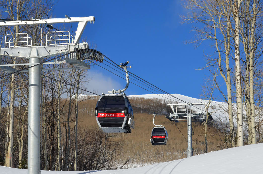 Park City Mountain Resort is serviced by 41 lifts, enabling you to explore far from where you're staying.